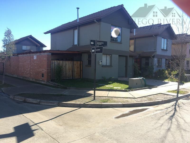 Arriendo Casa Condominio Portal De Machalí