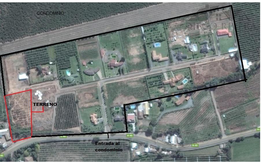 Vendo Terreno Condominio 5.000 mts2 OLIVAR
