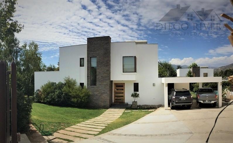 Vendo Hermosa Casa Mediterranea Nogales - Machalí