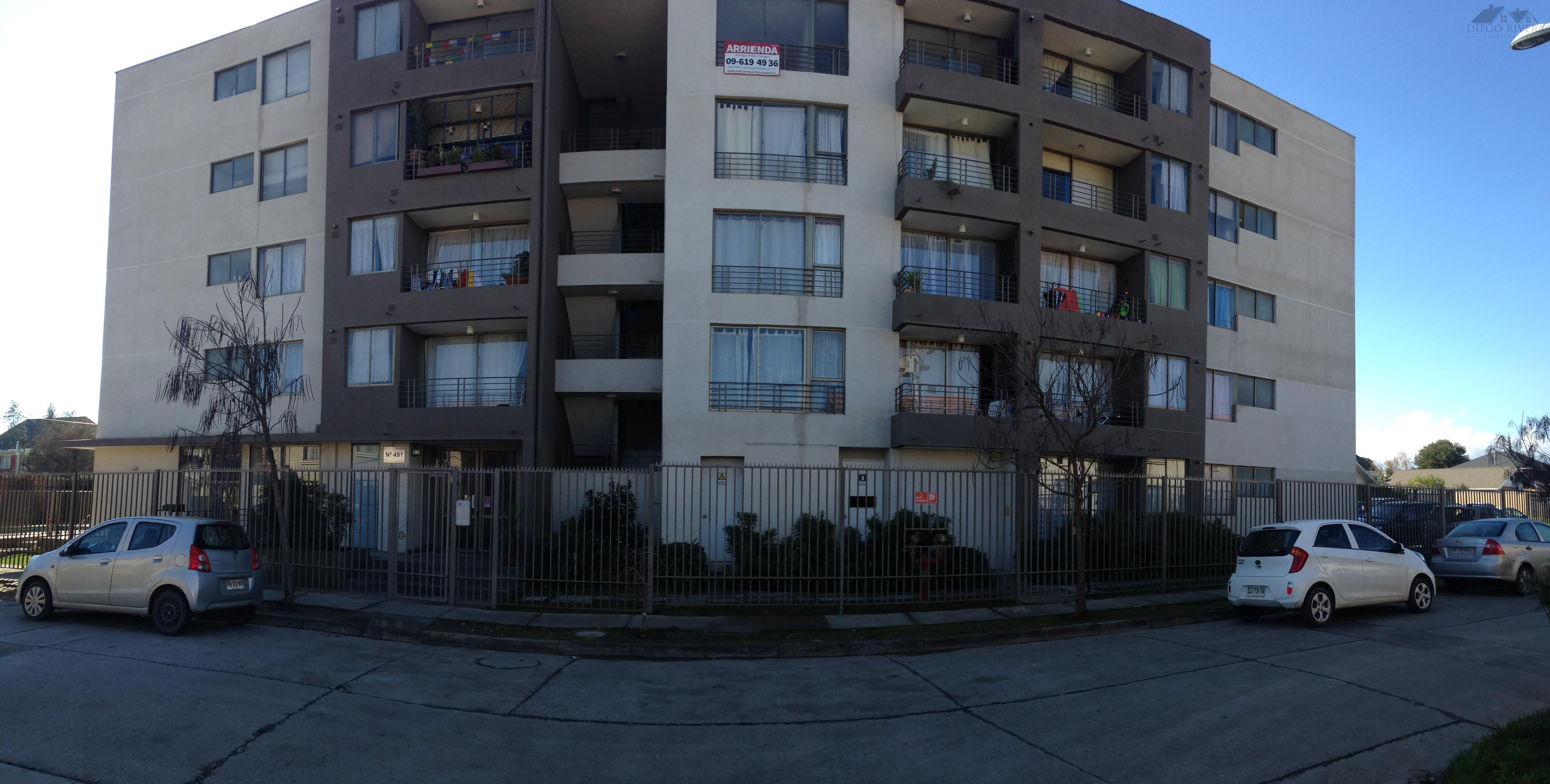 Arriendo Departamento Condominio Puertas Don Vicente