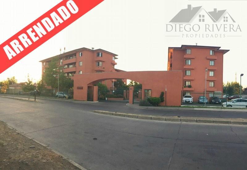 Arriendo Departamento Condominio San Joaquin