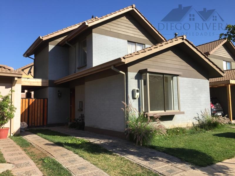 Arriendo Casa Condominio Portal de Machalí.