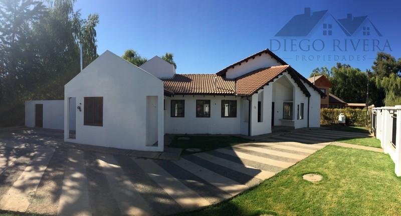 Vendo Hermosa Casa La Campiña - Machalí