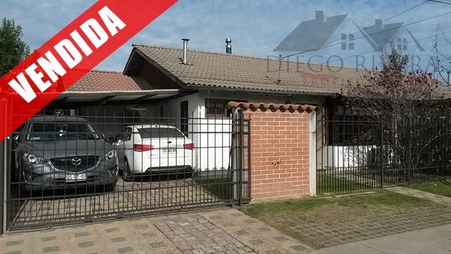 Vendo Casa Fernando de Aragón Rancagua