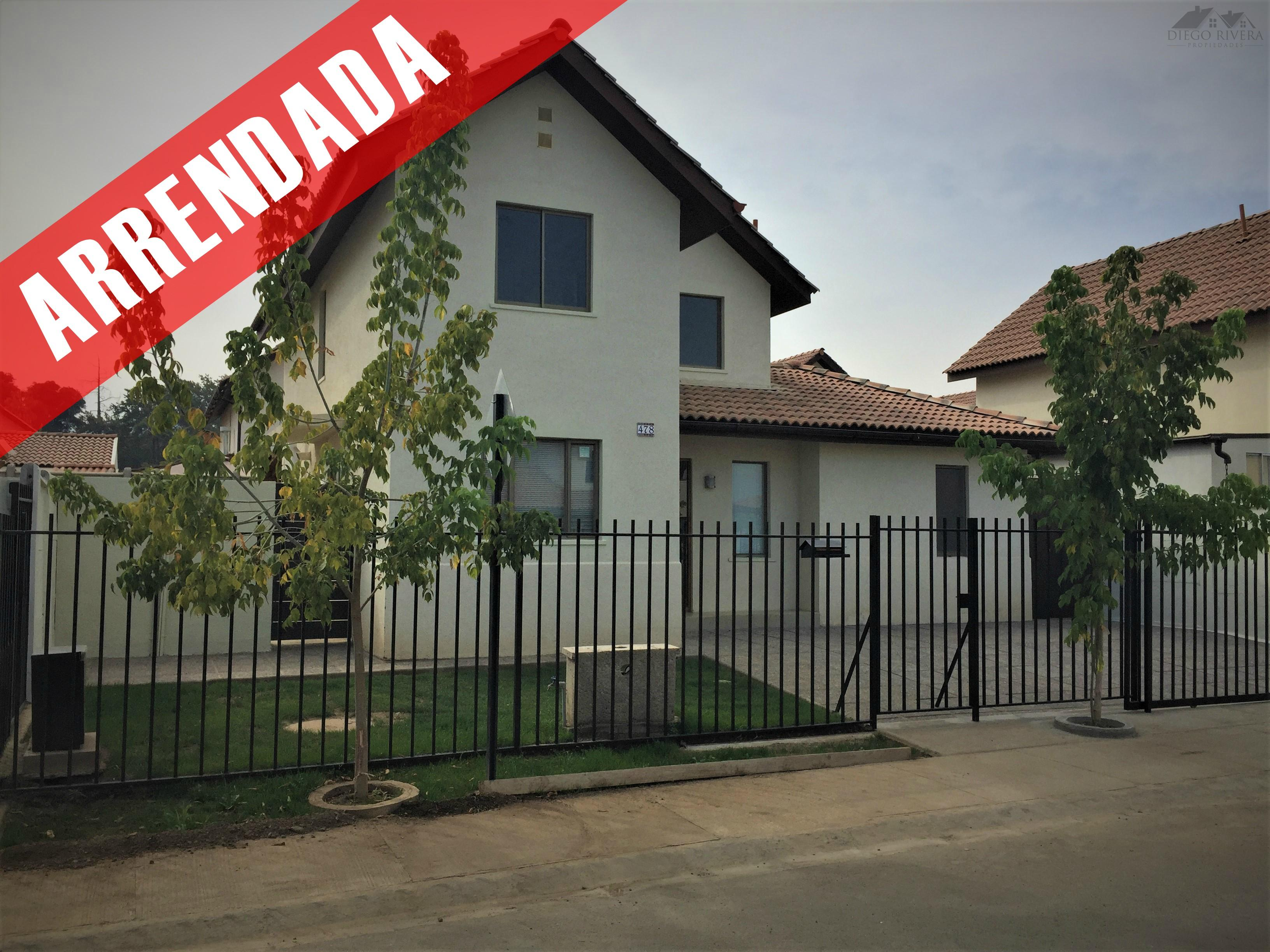Arriendo Casa Nueva Campo de Machali-Polo