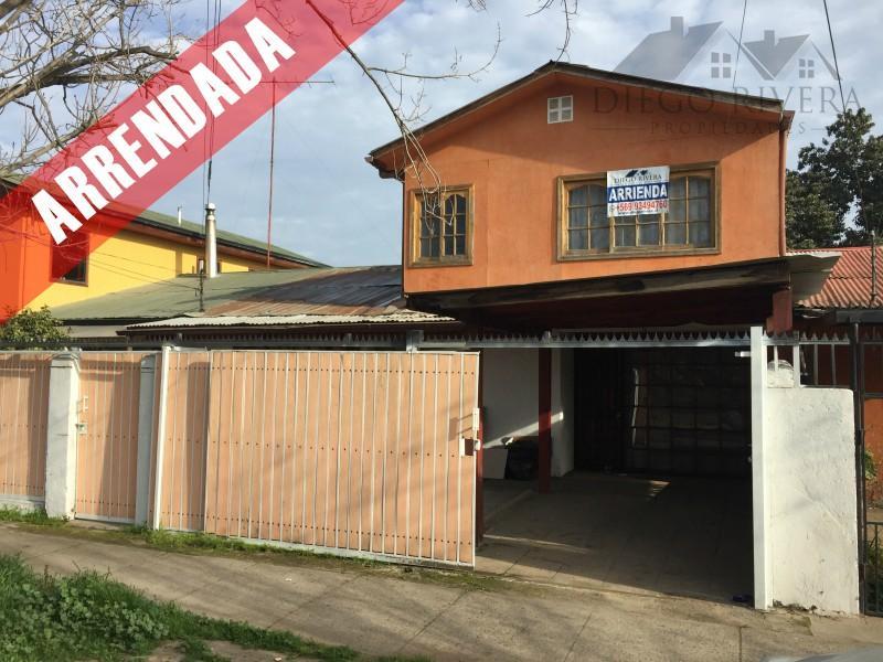 Arriendo Casa Habitación/Comercial Bombero Villalobos - Rancagua.