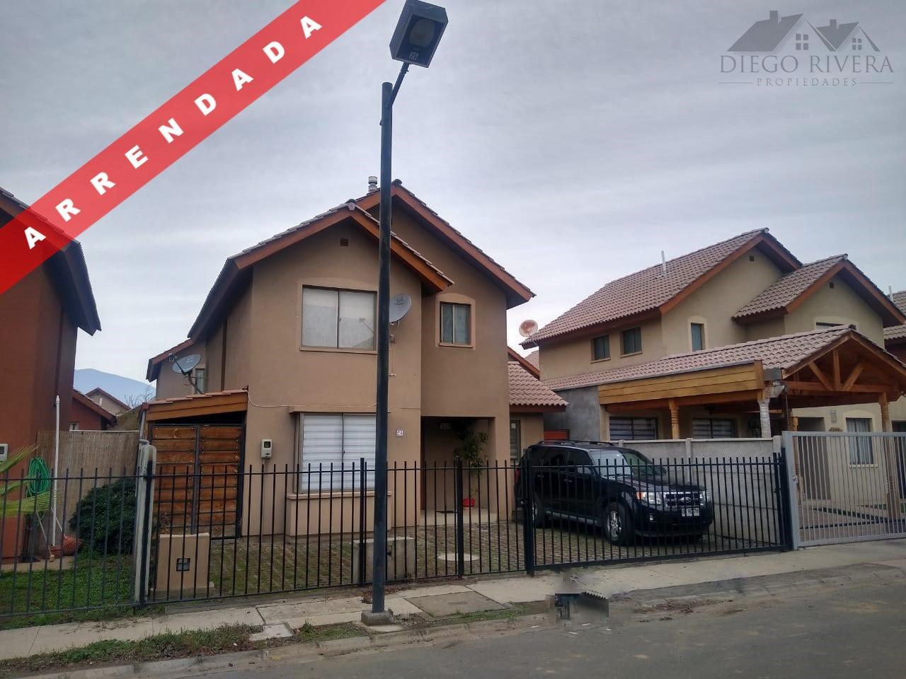 Arriendo Casa Haras de Machalí