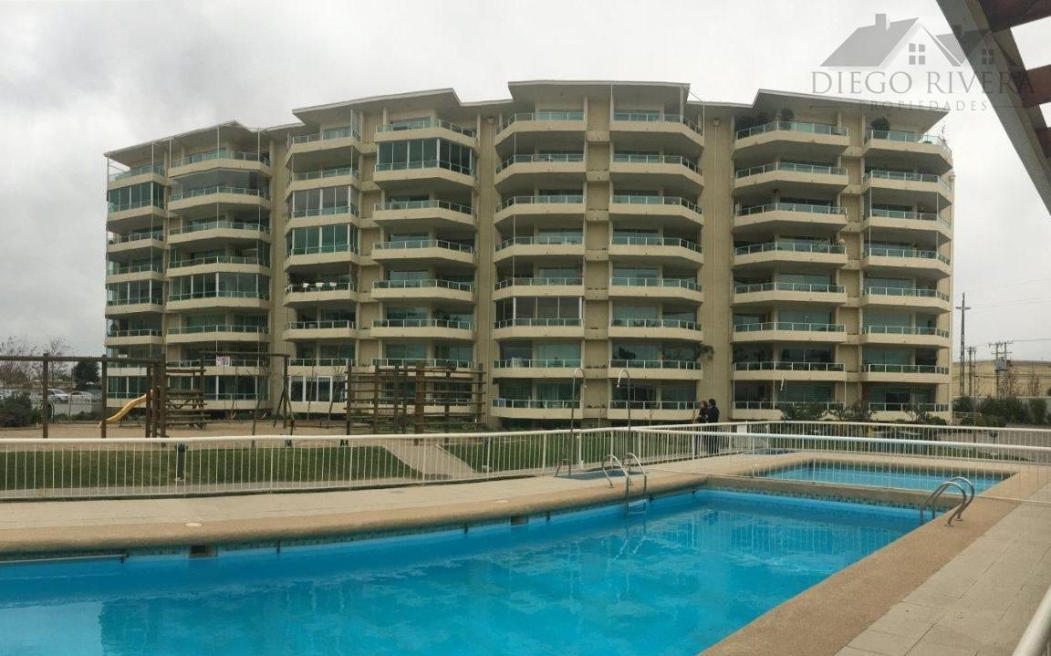 Arriendo Lindo Departamento Condominio Parque Carrera - Rancagua